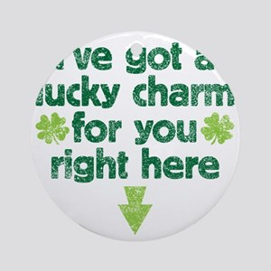 luckycharm Round Ornament