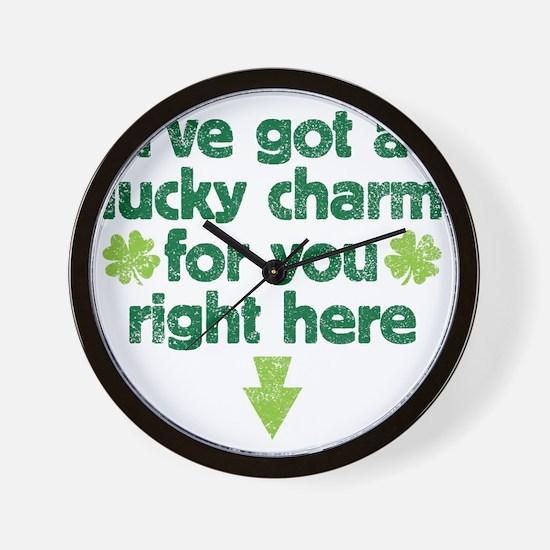 luckycharm Wall Clock