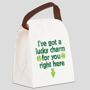 luckycharm Canvas Lunch Bag