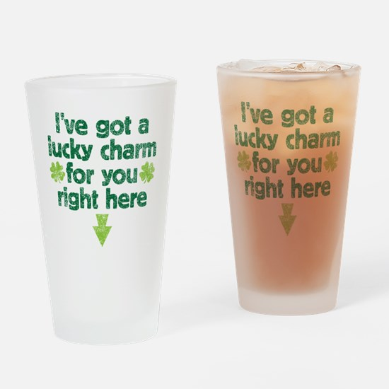 luckycharm Drinking Glass