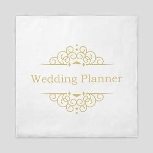 Wedding Planner in gold Queen Duvet