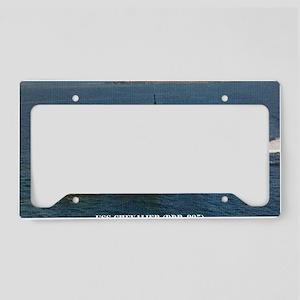chevalier ddr postcard License Plate Holder