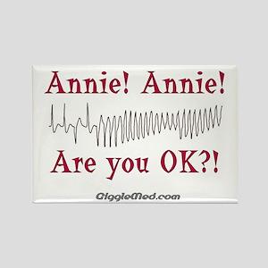 Annie! Annie! 2 Rectangle Magnet