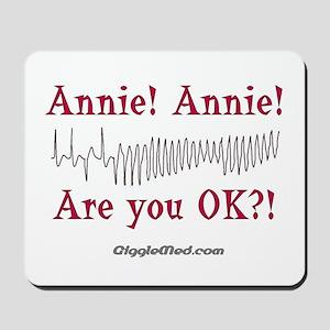 Annie! Annie! 2 Mousepad