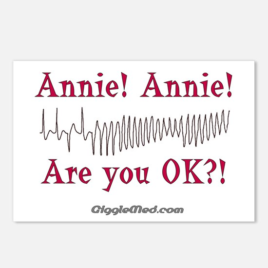Annie! Annie! 2 Postcards (Package of 8)