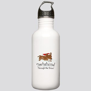Dachshund Through The Stainless Water Bottle 1.0L