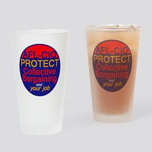 Collective Bargaining Drinking Glass
