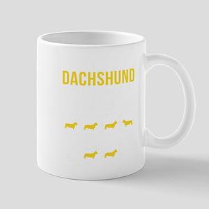 Dachshund Stubborn Tricks Mugs