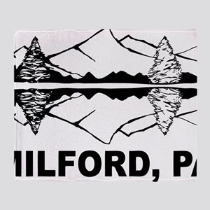 Milford, PA Throw Blanket