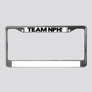 teamnph License Plate Frame