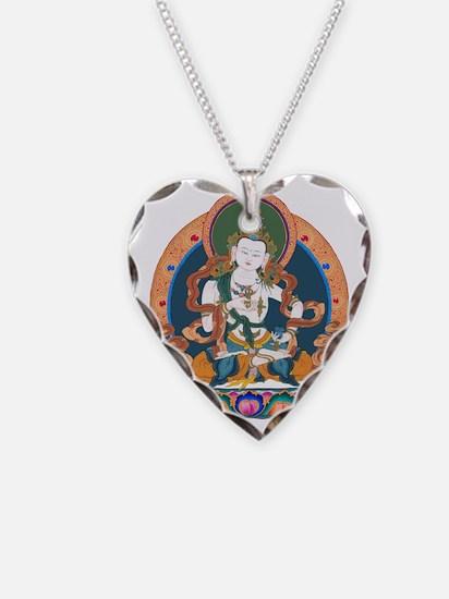 Vajrasattva-300 Necklace Heart Charm