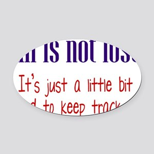all-lost1 Oval Car Magnet