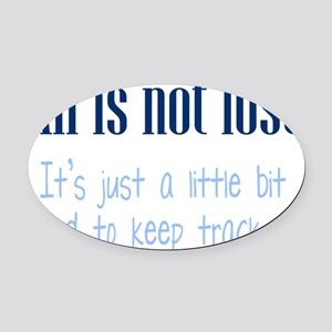 all-lost2 Oval Car Magnet