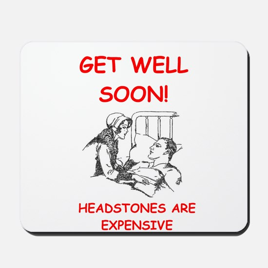 GET WELL soon Mousepad