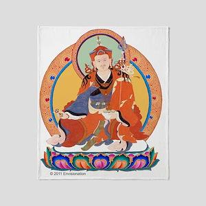 Guru Rinpoche/Padmasambhava Throw Blanket