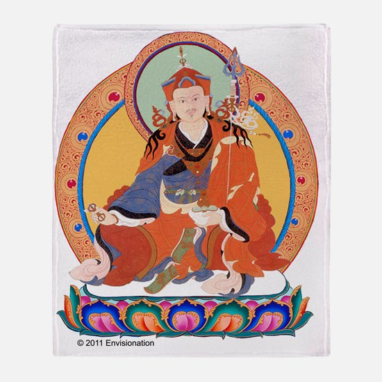 Guru Rinpoche/Padmasambhava Throw Blanket