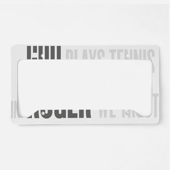 GOD ROGER License Plate Holder