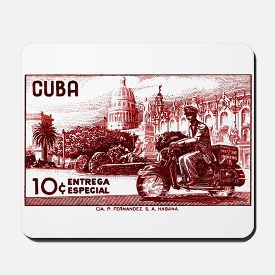 Vintage 1958 Cuba Special Delivery Postage Stamp M