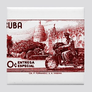 Vintage 1958 Cuba Special Delivery Postage Stamp T
