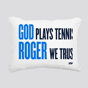 GOD ROGER Rectangular Canvas Pillow