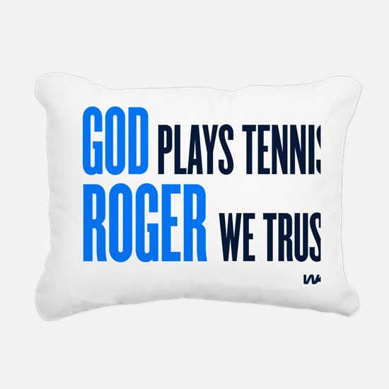 GOD ROGER Rectangular Canvas Pillow