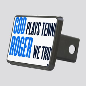 GOD ROGER Rectangular Hitch Cover