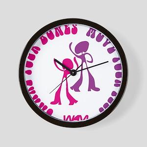 SHAKE YOUR BONES Wall Clock