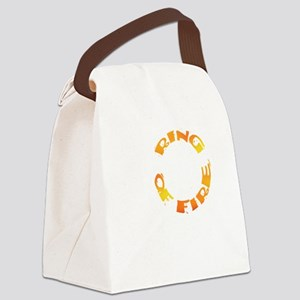 RING OF FIRE VIII Canvas Lunch Bag