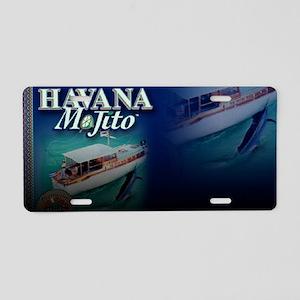 Havana Mojito design10 Aluminum License Plate