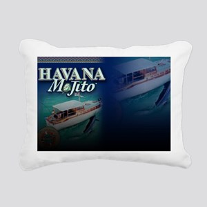 Havana Mojito design10 Rectangular Canvas Pillow