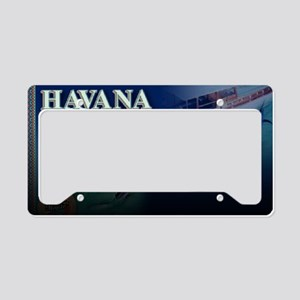 Havana Mojito design10 License Plate Holder