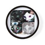 LabRat the Wonder Cat's Funky Wall Clock