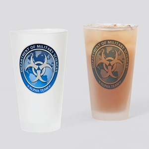 DMS-MABERRY-ALPHA-LARGE Drinking Glass