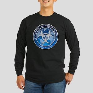 DMS-MABERRY-ALPHA-LARGE Long Sleeve Dark T-Shirt