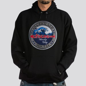 chicago patch Hoodie (dark)