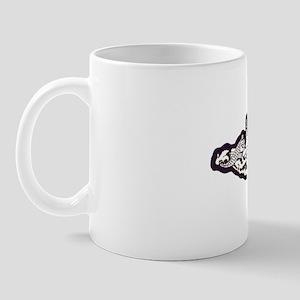 chicago whitew letters Mug