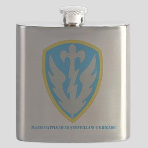 SSI - 504th Battlefield Surveillance Brigade Flask