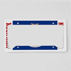 LP-new-york-flag License Plate Holder