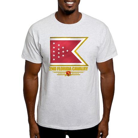 2nd Florida Cavalry (flag 10) Light T-Shirt