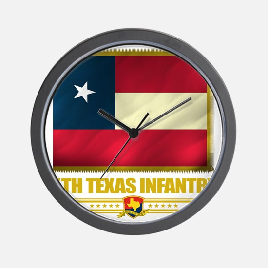 5th Texas Infantry (flag 10)2 Wall Clock