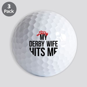 derbywife Golf Balls