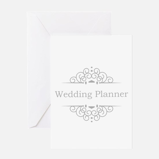 Wedding Planner in silver Greeting Cards