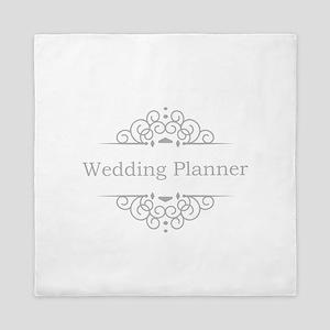 Wedding Planner in silver Queen Duvet