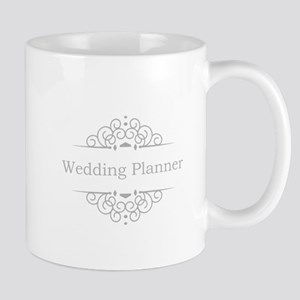 Wedding Planner in silver Mugs