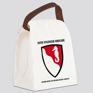 DUI-36TH ENG BDE HQ AND HQ COY WI Canvas Lunch Bag