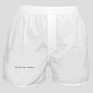 The Future Mrs. Strickland  Boxer Shorts