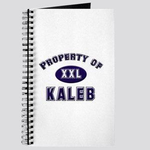 Property of kaleb Journal