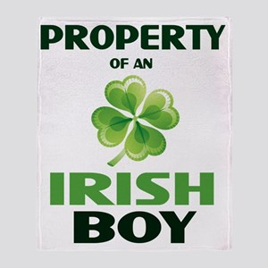 prop-irish Throw Blanket