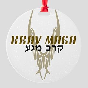KMArmy copy Round Ornament