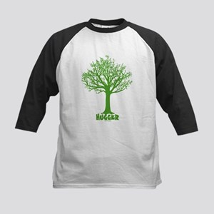 TREE hugger (dark green) Kids Baseball Jersey